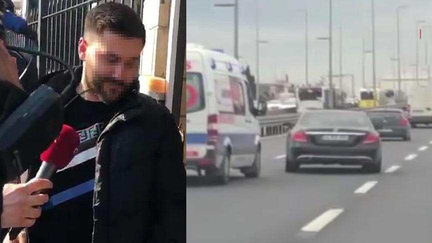 Ambulansı engelleyen magandanın 5 yıl hapsi istendi