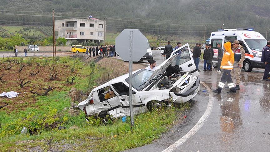 İslahiye'de korkunç kaza! 4 ölü, 12 yaralı