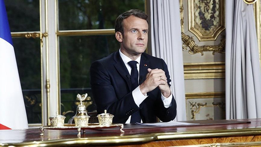 Macron'dan Notre Dame Katedrali açıklaması!