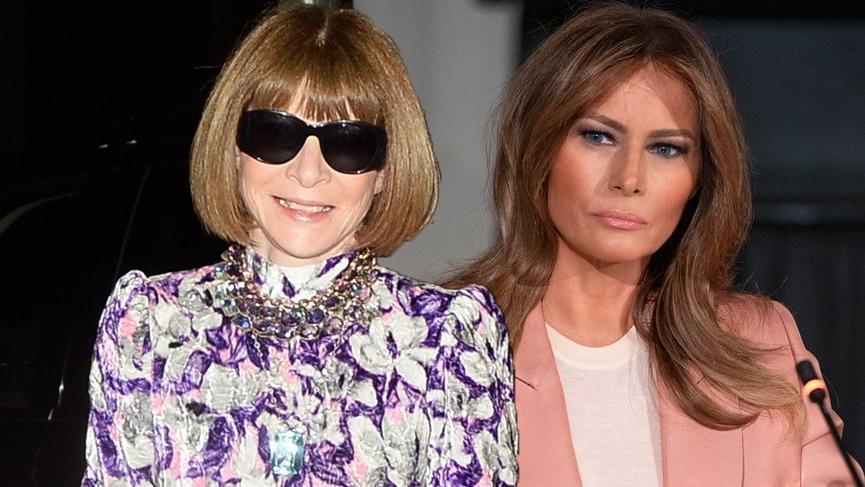 Melania Trump ve Anna Wintour ağız dalaşına girdi