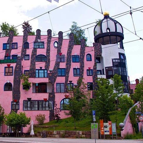 Doğayla mimarinin buluşması: Die Grüne Zitadelle