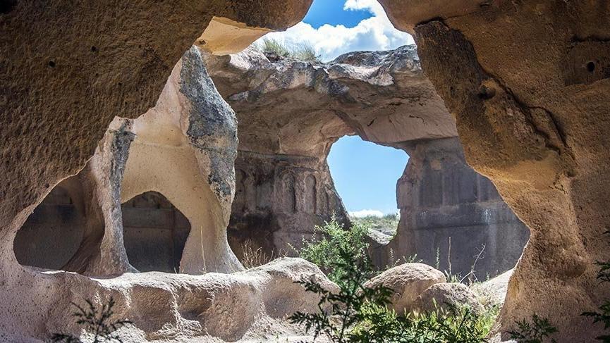 Kapadokya'nın gizemli köşesi Açık Saray
