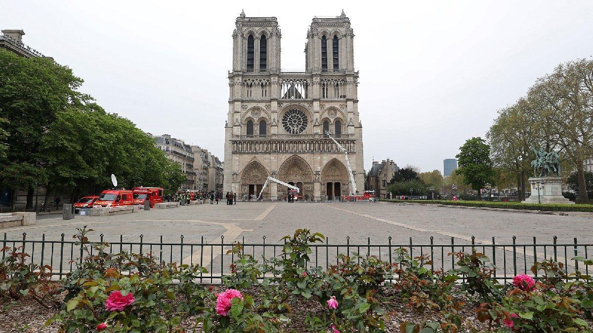 Başbakan açıkladı... Notre Dame için yarışma yapılacak!