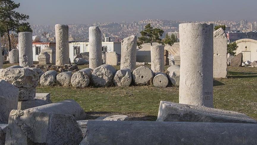 Ankara'nın tarihe açılan kapısı Roma Hamamı