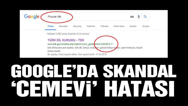Son dakika: Google'da skandal 'Cemevi' hatası