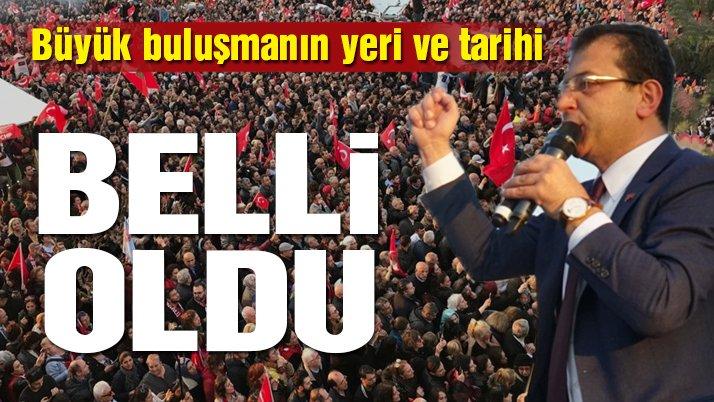 Son Dakika… İmamoğlu İstanbullularla Maltepe'de buluşacak