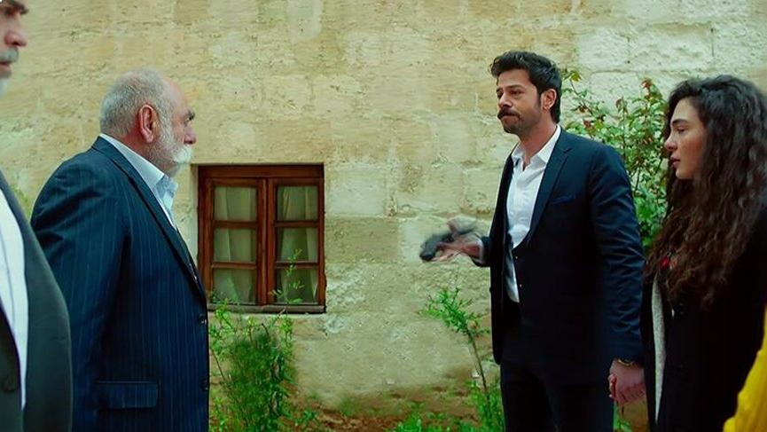 Hercai'de Azat'tan Reyyan'a destek...