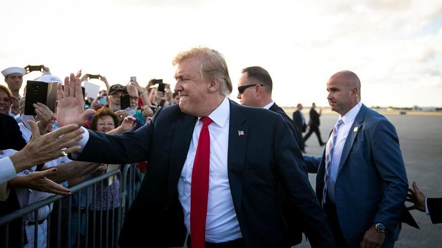 Trump o ismi duyunca panik olmuş: Ayvayı yedik