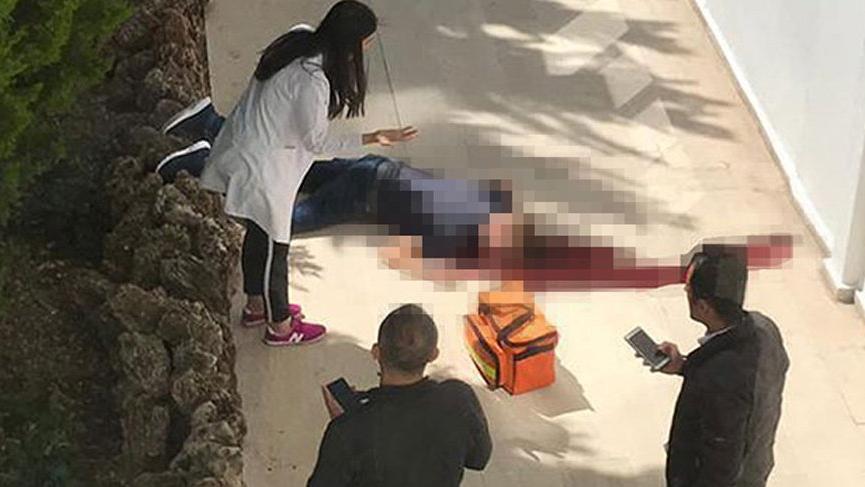 Otelin balkonundan düşen Alman turistin feci ölümü!