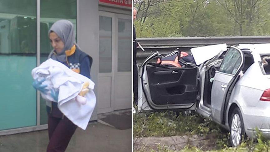 Kahreden kaza! Anne öldü, eşi ve 4 aylık bebek...