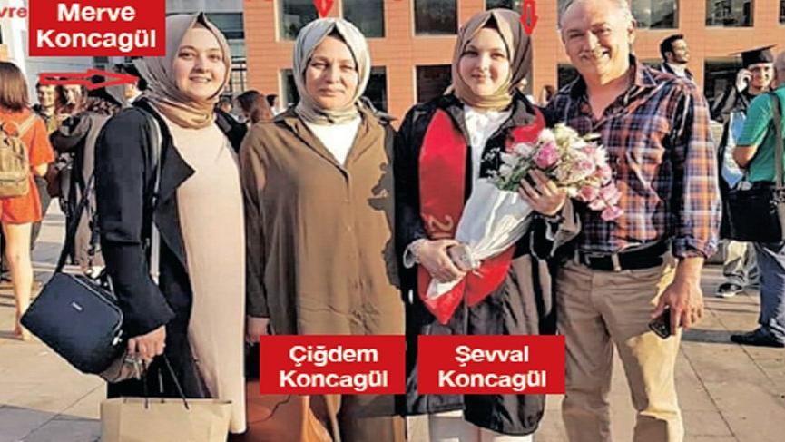AKP'li vekil Koncagül'ün kızlarına gün doğdu