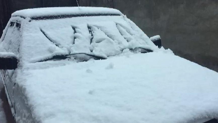 Birçok şehirden kar haberleri geliyor!