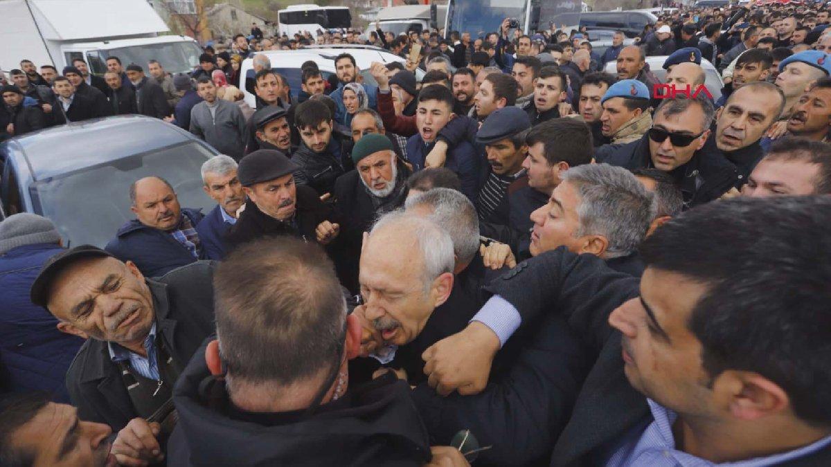 Son dakika... Kılıçdaroğlu'na şehit cenazesinde saldırı