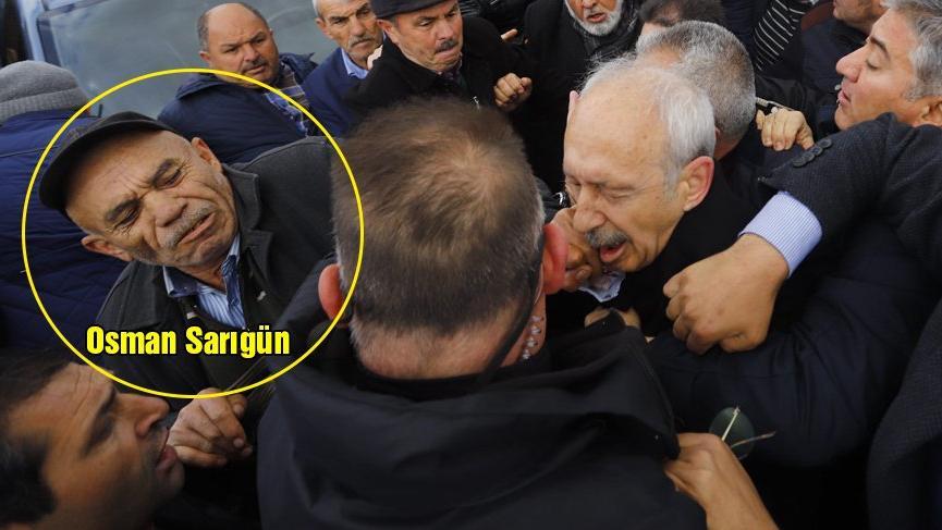 Son dakika: Kılıçdaroğlu'na saldıran Osman Sarıgün AKP'li çıktı