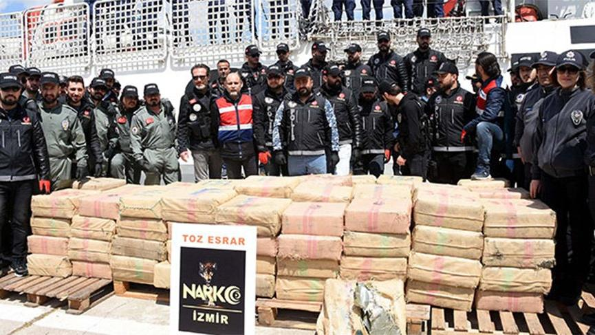 Cumhuriyet tarihinin en büyük uyuşturucu operasyonu: 5 ton ele geçirildi
