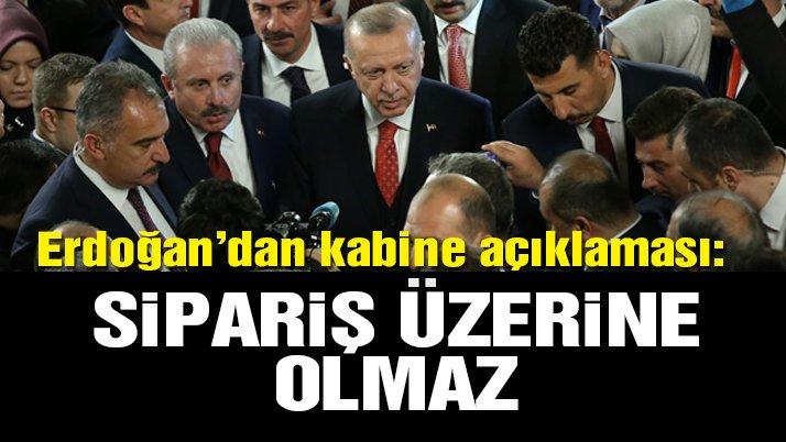 Son dakika… Erdoğan'dan flaş kabine açıklaması!