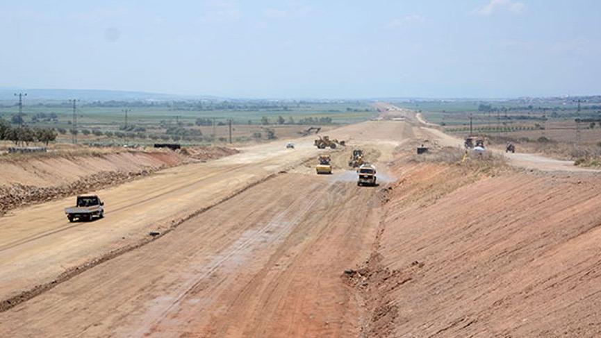 Yol yapımında çalışan işçinin korkunç ölümü!