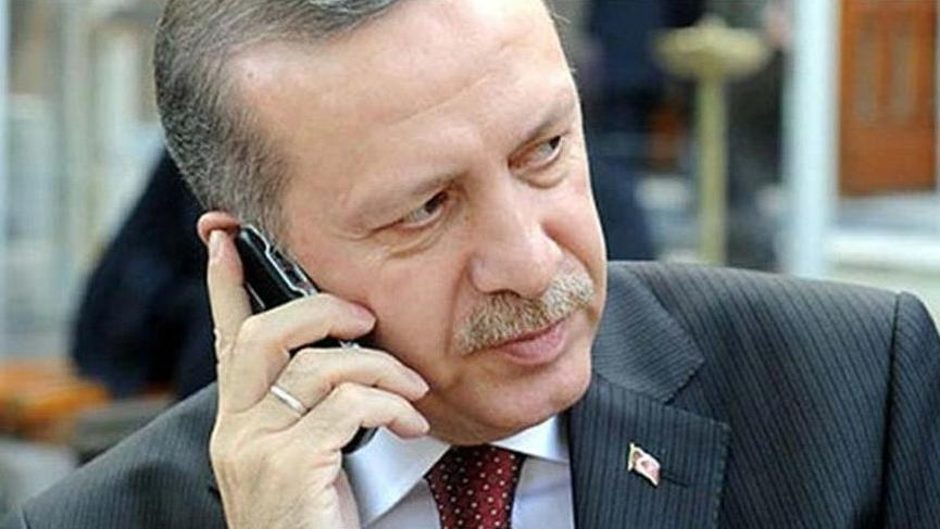 Erdoğan'dan, Sri Lanka Cumhurbaşkanına taziye telefonu