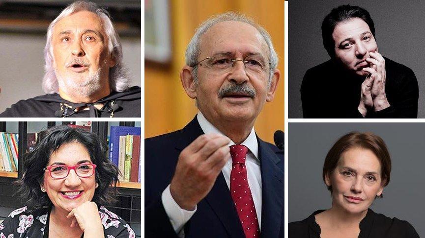 Sanatçılardan Kılıçdaroğlu'na saldırıya kınama