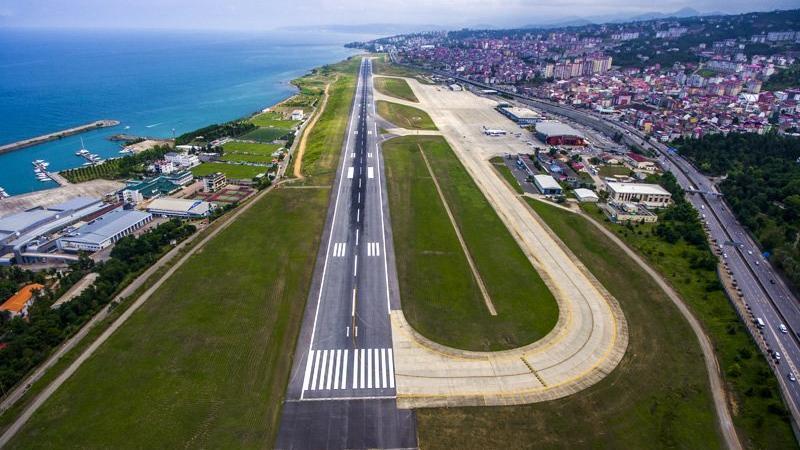 Pisti onarıma alınan Trabzon Havalimanı uçuşa kapatıldı   Trabzon Havalimanı ne zaman açılacak?