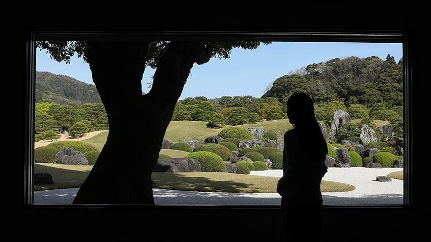 Japon bahçe sanatının zirvesi Adachi Bahçesi