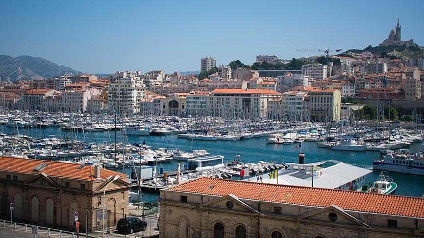 Avrupa'nın liman kenti Marsilya