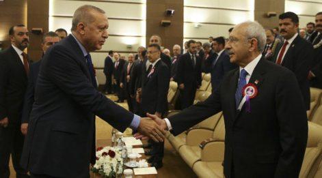 Erdoğan ve Kılıçdaroğlu aynı törende buluştu
