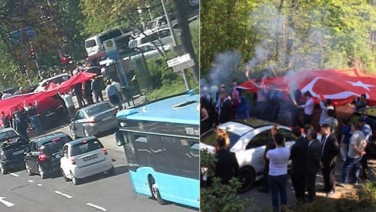 Almanya'yı karıştıran Türk düğünü! 80 araçlık konvoy polise takıldı