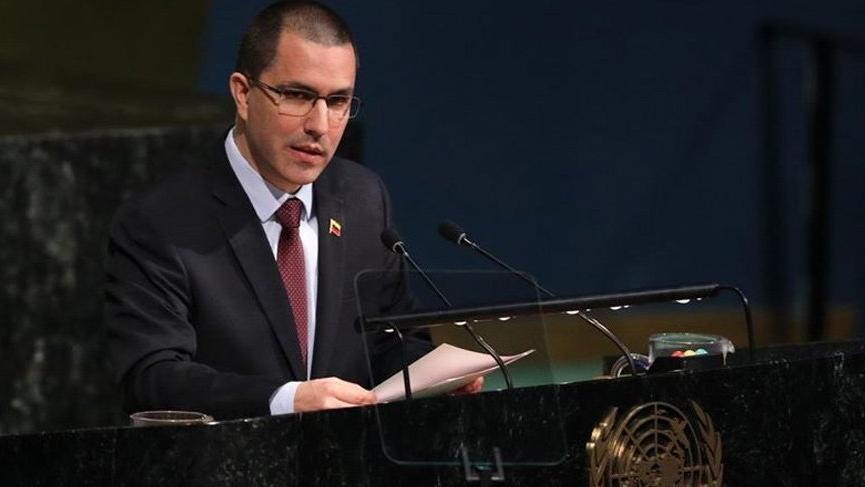 ABD'den Venezuela Dışişleri Bakanı'na yaptırım!