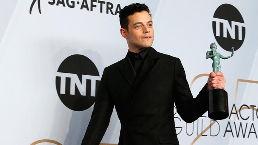 Rami Malek, James Bond filminin kötü adamı oldu