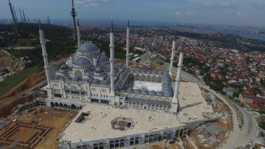 Çamlıca Camii 3 Mayıs'ta açılıyor