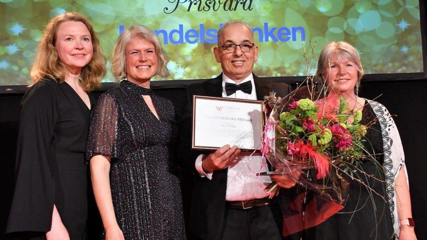 İsveç'in konuştuğu Türk esnaf… En sevilen ödülü verdiler!