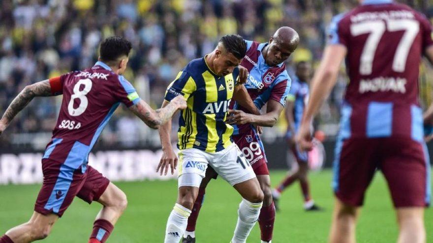 MAÇ ÖZETİ: Fenerbahçe Trabzonspor maç özeti! Trabzonspor fırsatı tepti