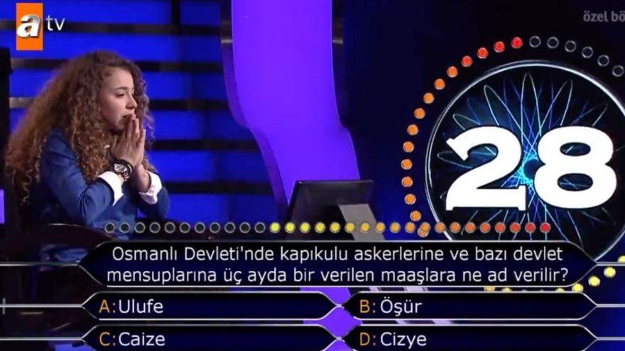 Osmanlı Devleti'nde kapıkulu askerlerine ve bazı devlet mensuplarına üç ayda bir verilen maaşlara ne ad verilir?