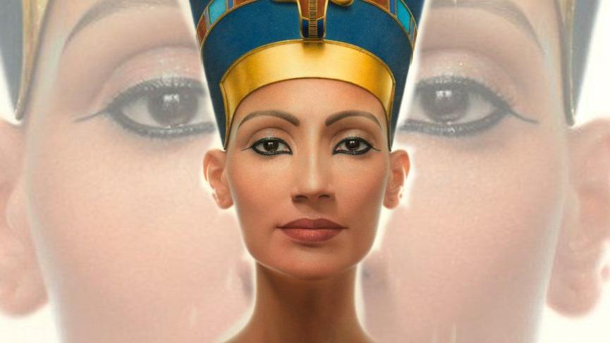 Algıları yıkan Nefertiti güzelliği