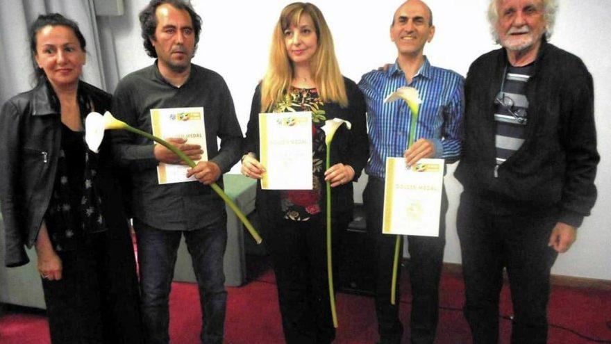 İzmirli ressama, Dünya Sanat Olimpiyatları'nda altın madalya