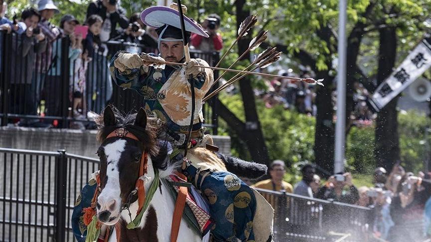 Japonların bin yıllık ok ve binicilik geleneği Yabusane