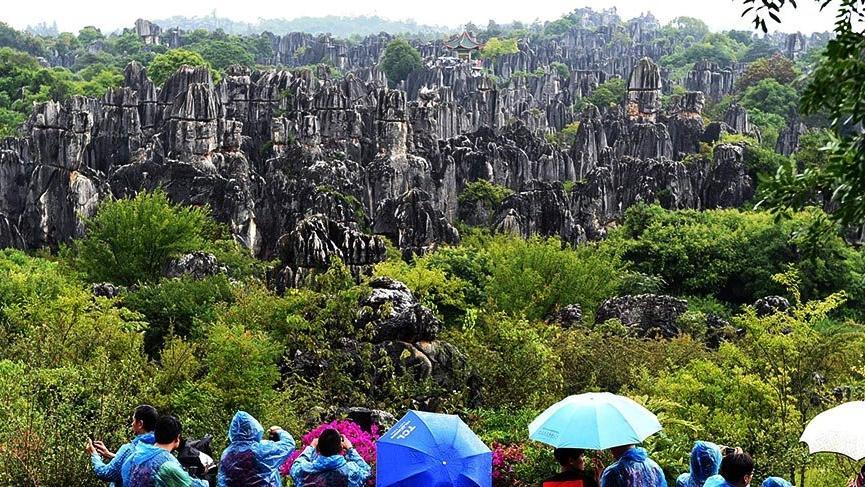 Çin'deki doğal labirent: Taş Ormanı