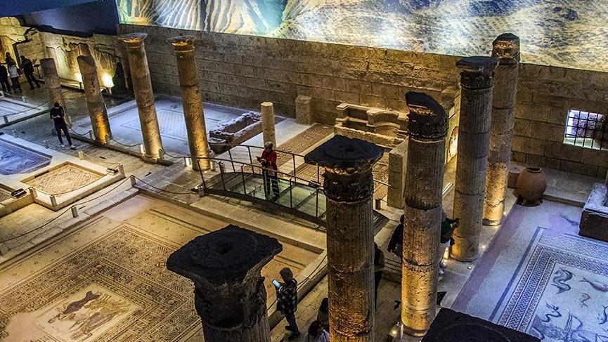 Dünyanın en büyük ikinci mozaik müzesi Zeugma