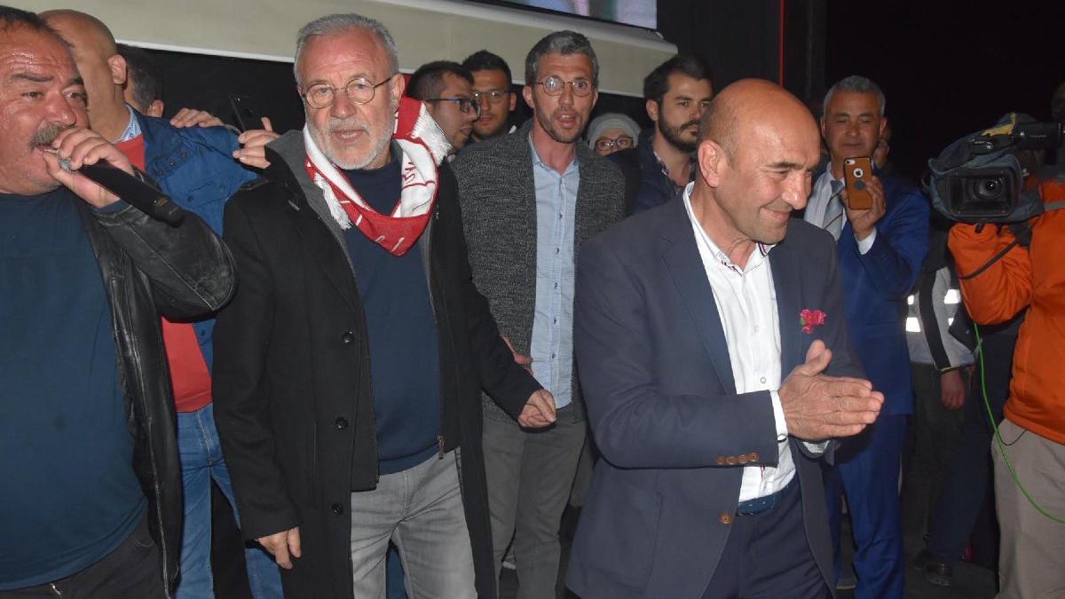 Tunç Soyer İzmir'de rekor oyla kazandı