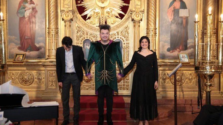 Demir kilisede konser