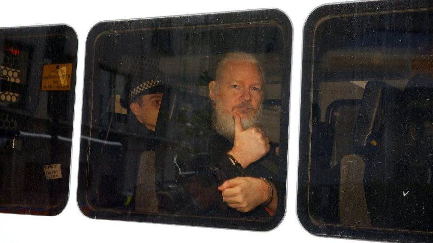 Assange'ın ifadesi ortaya çıktı: Beni ABD'ye vermeyin