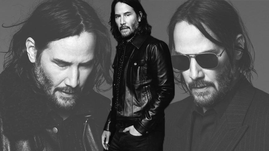 Keanu Reeves Yves Saint Laurent'in marka yüzü oldu