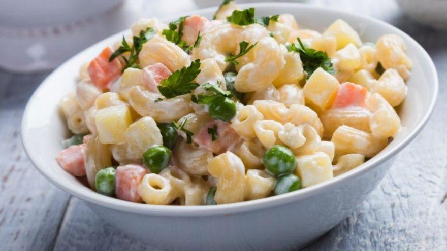 Makarna salatası tarifi: Makarna salatası nasıl yapılır?