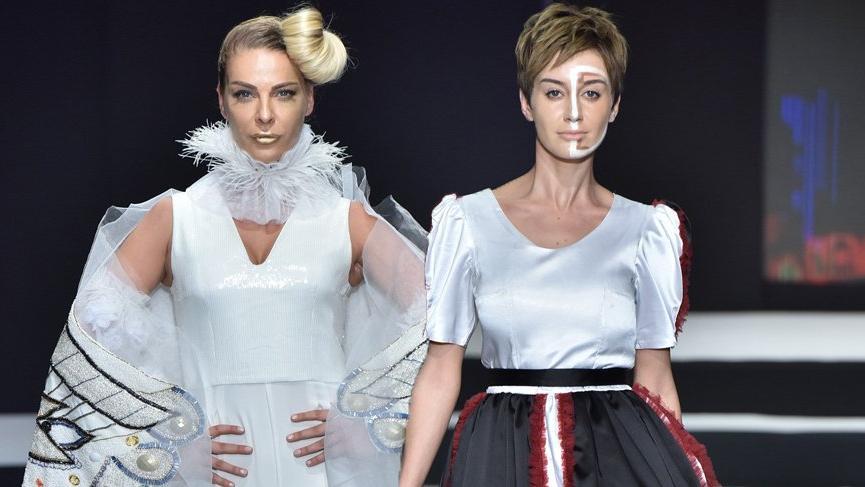 Moda Tasarım Teknolojileri öğrencilerinden görkemli defile