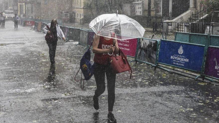 Hava durumu | Meteoroloji sağanak yağış için son dakika uyarısı