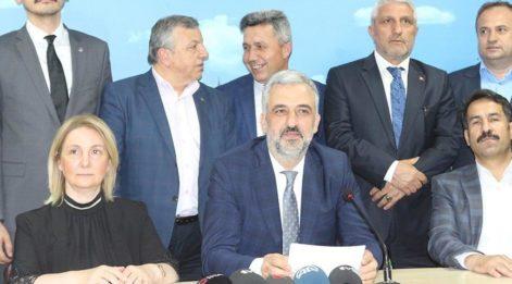 AKP Kocaeli İl Başkanıistifa etti!