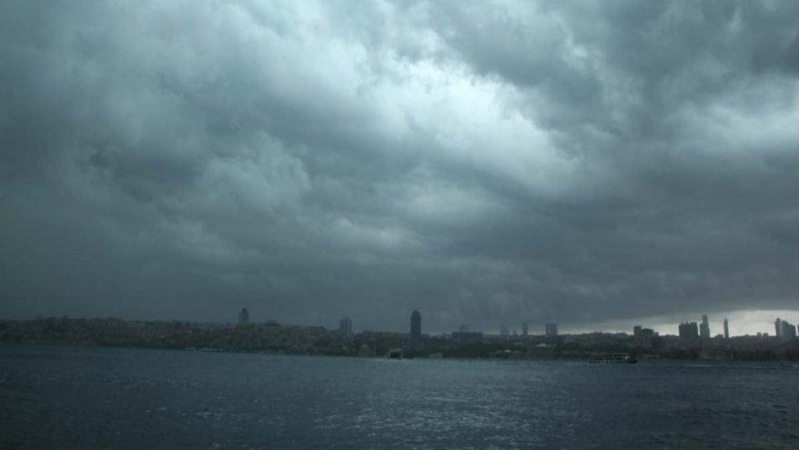 Meteoroloji'den sağanak yağış uyarısı: İstanbullular yarına dikkat