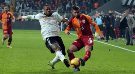 Galatasaray Beşiktaş canlı izle! GS BJK derbisinde 2. gol...