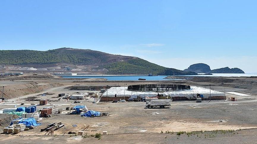 Akkuyu'daki nükleer santral inşaatının temelinde çatlak!